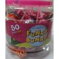 Candyland Funny Bunny Lolli Pops 50 Pcs